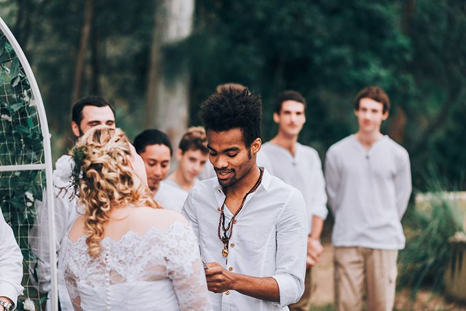 Sarah & Alfred | Terri's Rustic Farm Wedding by Andrew Sun Photography - 014