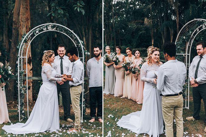 Sarah & Alfred | Terri's Rustic Farm Wedding by Andrew Sun Photography - 015
