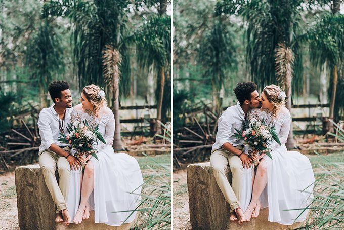 Sarah & Alfred | Terri's Rustic Farm Wedding by Andrew Sun Photography - 023