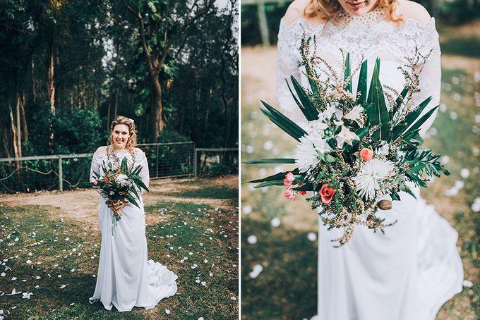 Sarah & Alfred | Terri's Rustic Farm Wedding by Andrew Sun Photography - 025