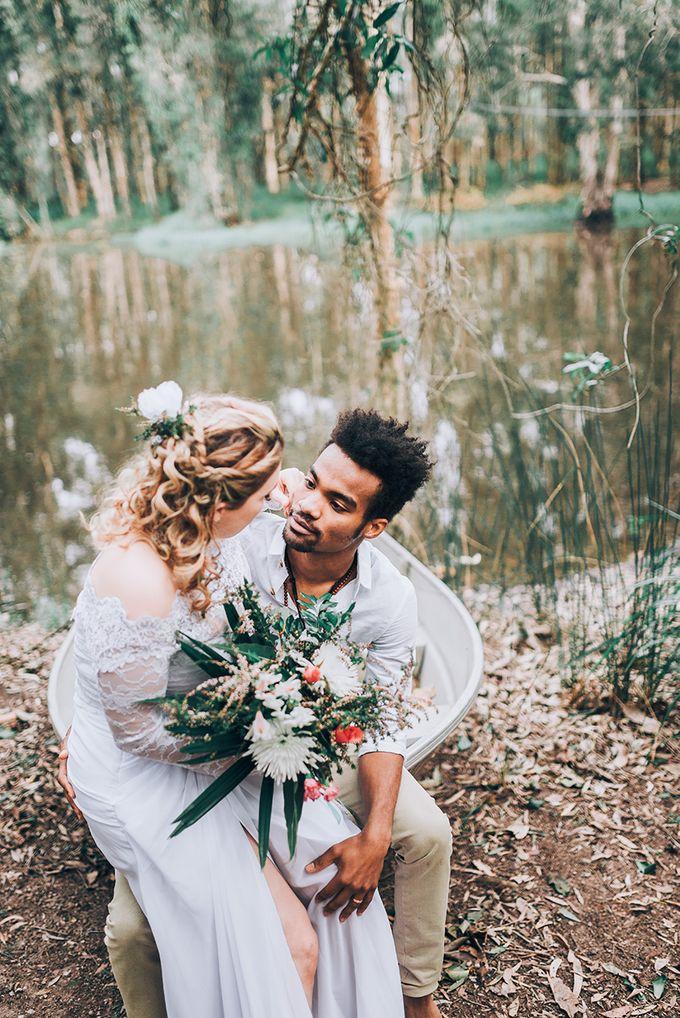 Sarah & Alfred | Terri's Rustic Farm Wedding by Andrew Sun Photography - 028