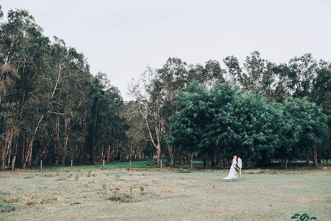Sarah & Alfred | Terri's Rustic Farm Wedding by Andrew Sun Photography - 030