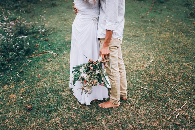 Sarah & Alfred | Terri's Rustic Farm Wedding by Andrew Sun Photography - 033