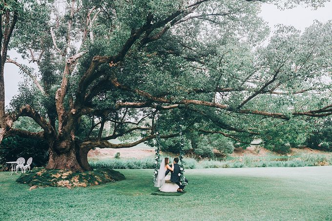 Sharna & Nick | Braeside Chapel Wedding by Andrew Sun Photography - 025