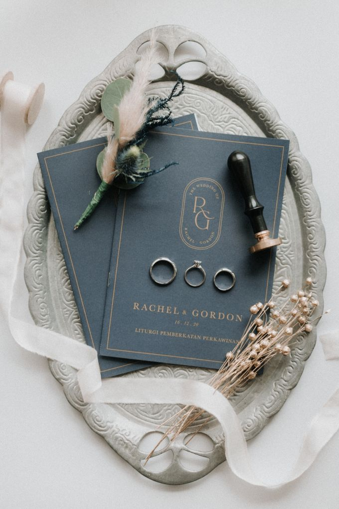 Simply Elegance Holy Matrimony Book by Trouvaille Invitation - 005