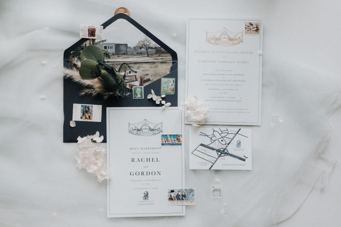 Simply Elegance Holy Matrimony Book by Trouvaille Invitation - 003