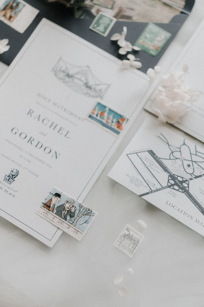 Simply Elegance Holy Matrimony Book by Trouvaille Invitation - 011
