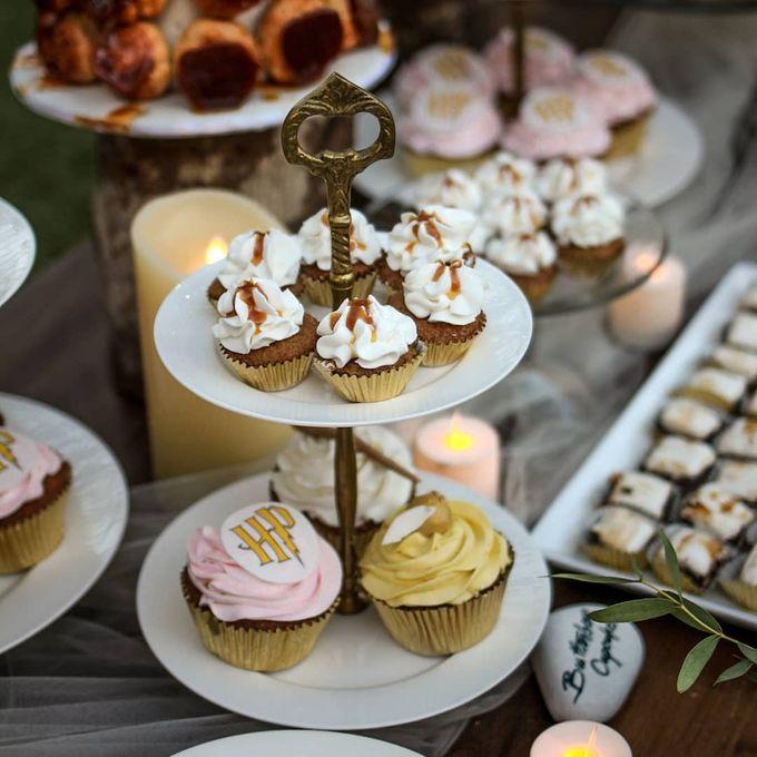 Rustic Dessert Table by Gordon Blue Cake - 037