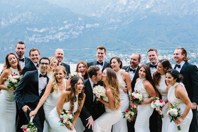 Romantic Wedding in Lake Como by Elena Panzeri Makeup & Hair Artist - 005