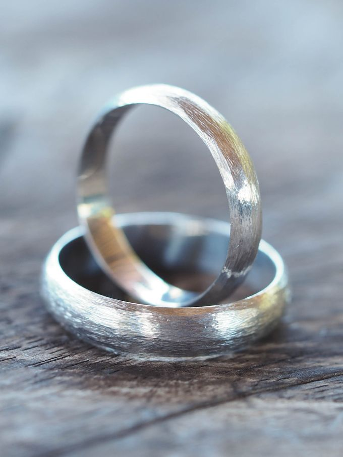 Wedding Band in Silver by Gardens of the Sun - 010