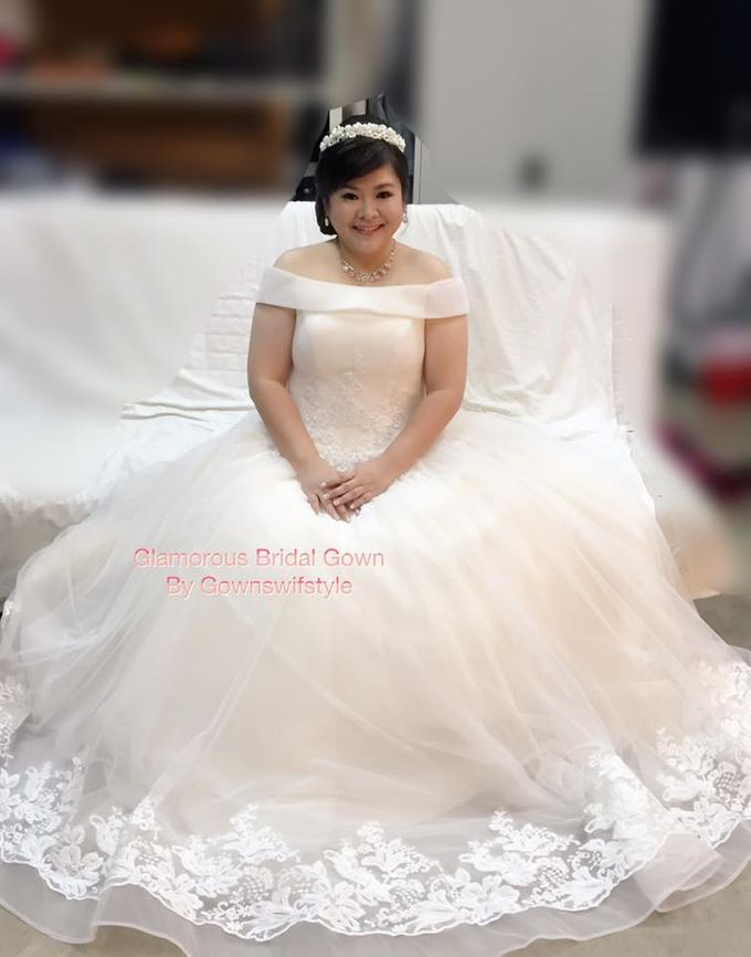 Beautiful Bridal Gowns by Makeupwifstyle - 007