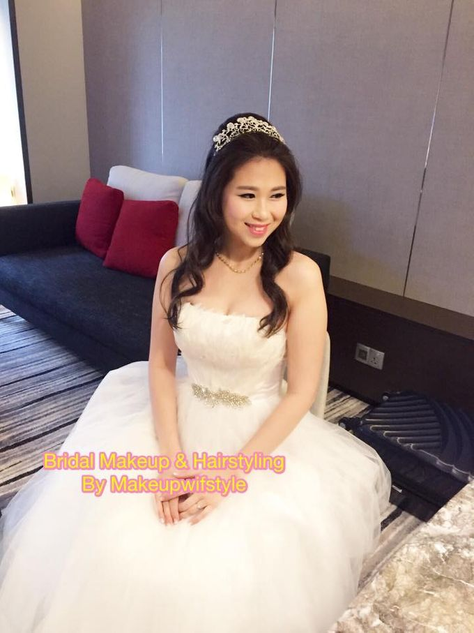 Beautiful Bridal Gowns by Makeupwifstyle - 005