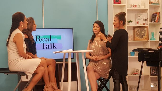 Makeup Demo For Valentines Day On Real Talk Show by Makeup by Marjorie - 002