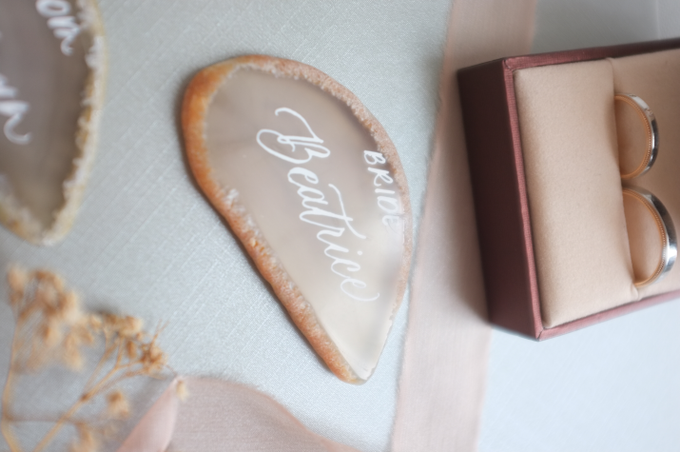 Agate & CrystalAgate Lettering for Wedding Styling by Grace and Truly Calligraphy - 005