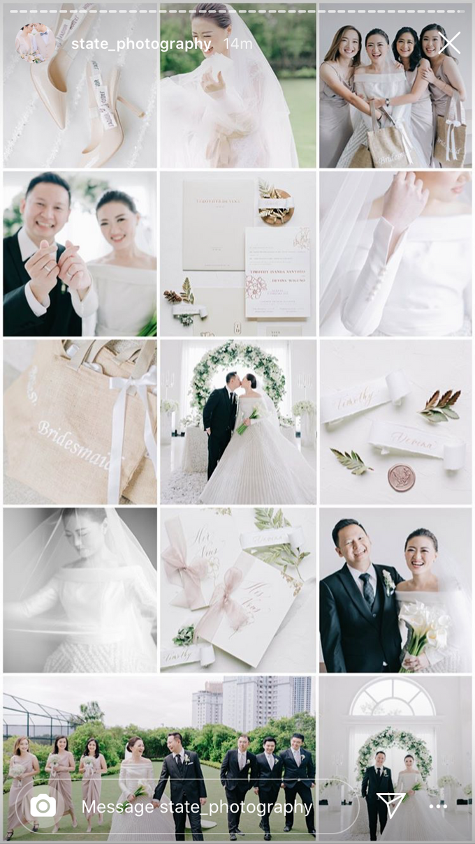 Timothy & Devina Wedding  by Grace and Truly Calligraphy - 001
