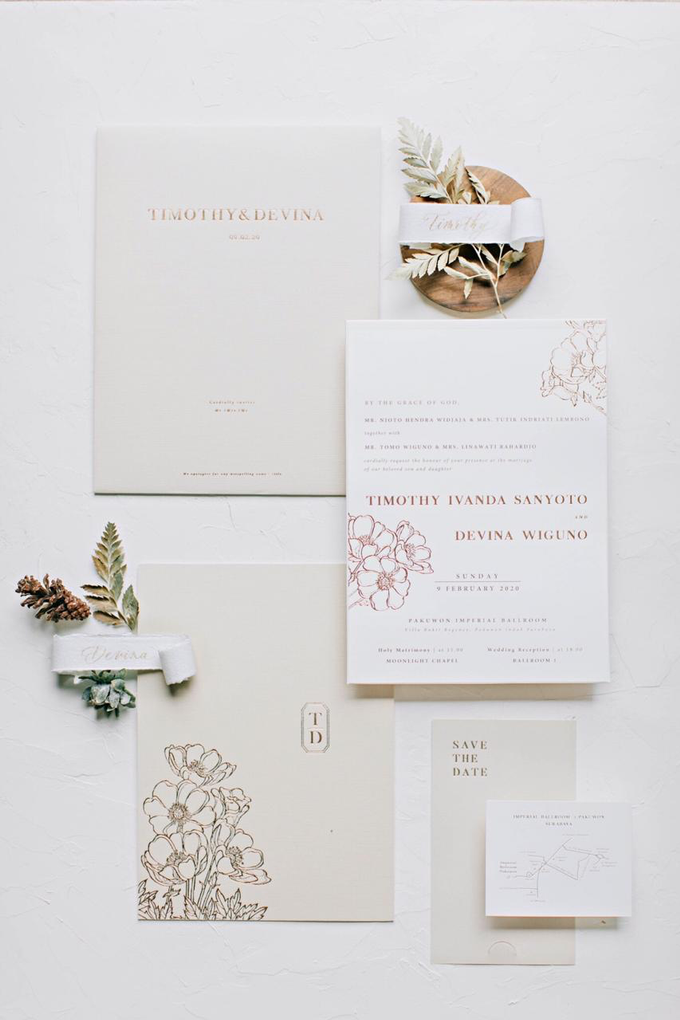 Timothy & Devina Wedding  by Grace and Truly Calligraphy - 007