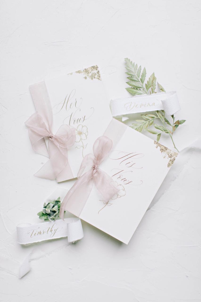 Timothy & Devina Wedding  by Grace and Truly Calligraphy - 008