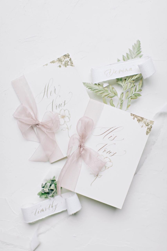 Timothy & Devina Wedding  by Grace and Truly Calligraphy - 009