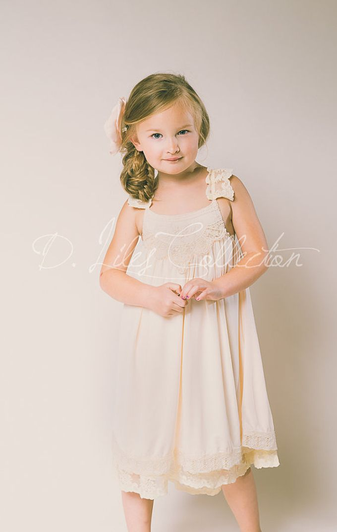 D Liles Collection Flower girl dresses by D. Liles Collection - 023