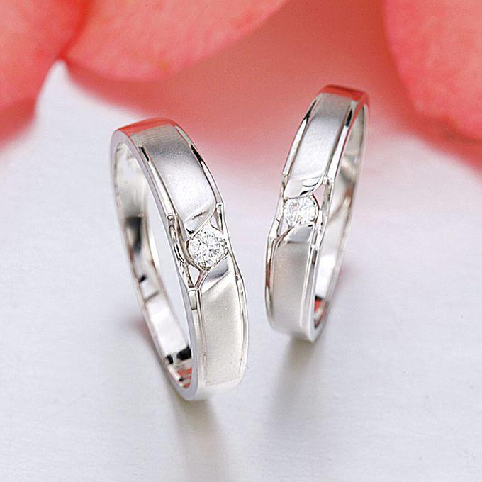 Tiaria Graceful Diamond Ring Perhiasan Cincin Pernikahan Emas dan Berlian by TIARIA - 002