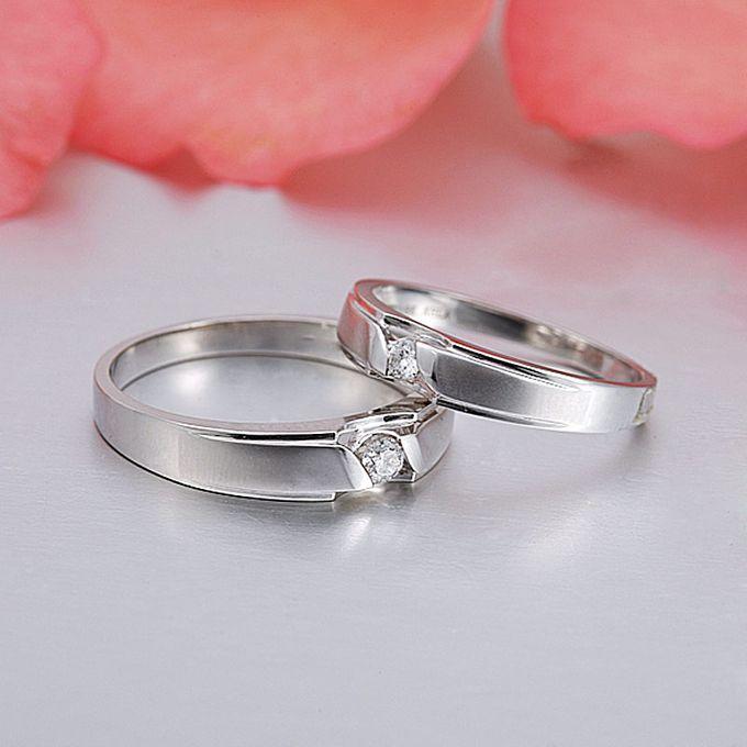 Tiaria Graceful Diamond Ring Perhiasan Cincin Pernikahan Emas dan Berlian by TIARIA - 003