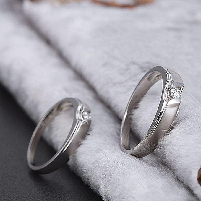 Tiaria Graceful Diamond Ring Perhiasan Cincin Pernikahan Emas dan Berlian by TIARIA - 004