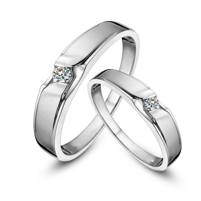 Tiaria Graceful Diamond Ring Perhiasan Cincin Pernikahan Emas dan Berlian by TIARIA - 001