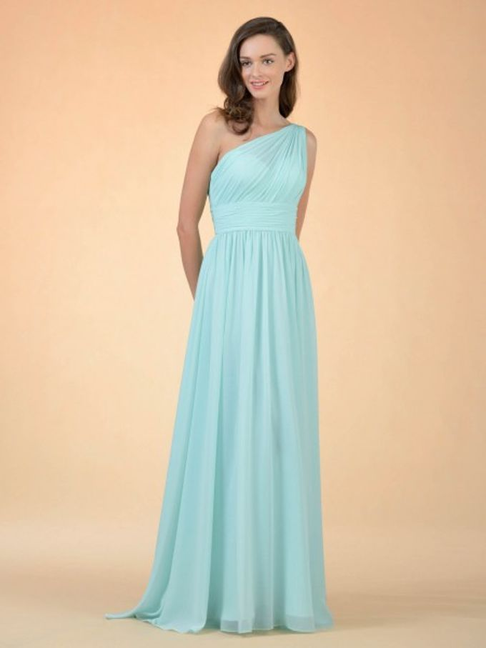 Bridesmaids Dresses by AWEI Bridal - 004