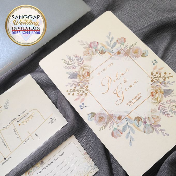 PUTRI & GIRI (Neat Grey Envelope Ornament Luxury) by Sanggar Undangan - 001