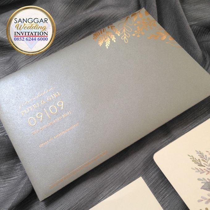 PUTRI & GIRI (Neat Grey Envelope Ornament Luxury) by Sanggar Undangan - 002