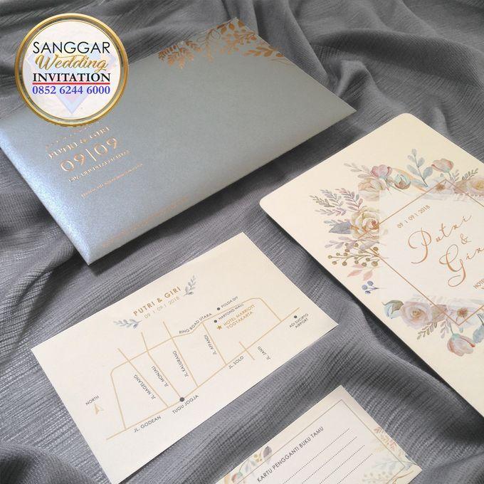 PUTRI & GIRI (Neat Grey Envelope Ornament Luxury) by Sanggar Undangan - 003