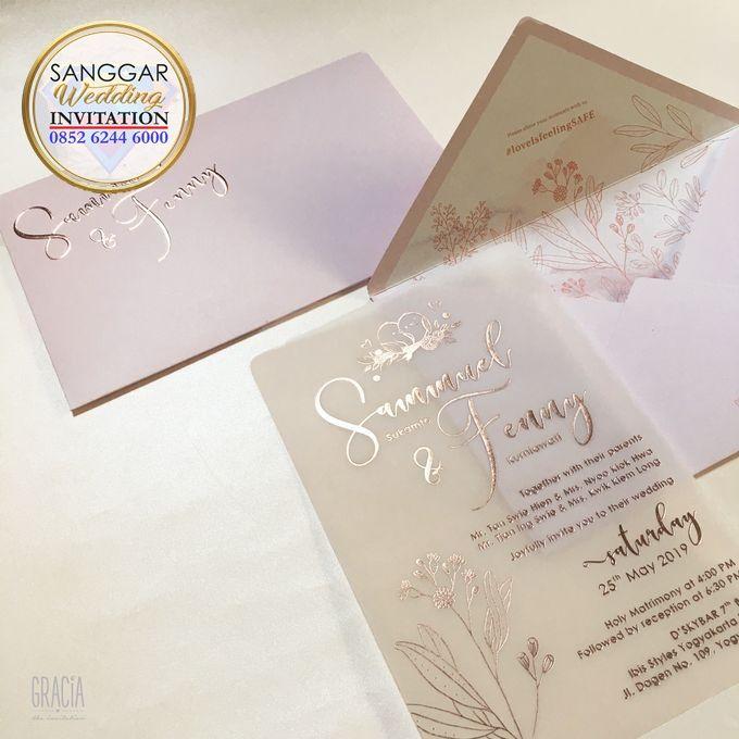SAMUEL & FENNY (Neat Pink Blurry Mica Luxury) by Sanggar Undangan - 001