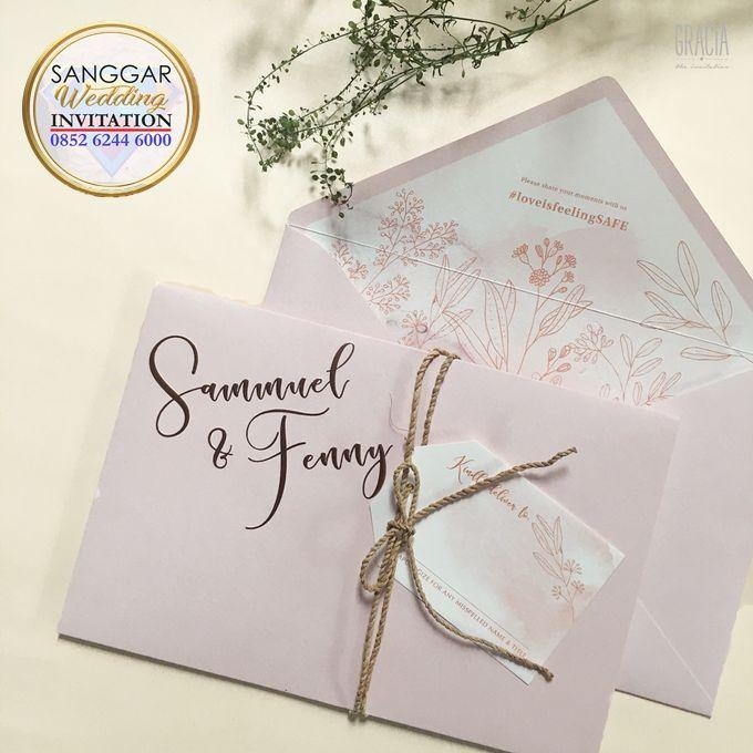 SAMUEL & FENNY (Neat Pink Blurry Mica Luxury) by Sanggar Undangan - 002