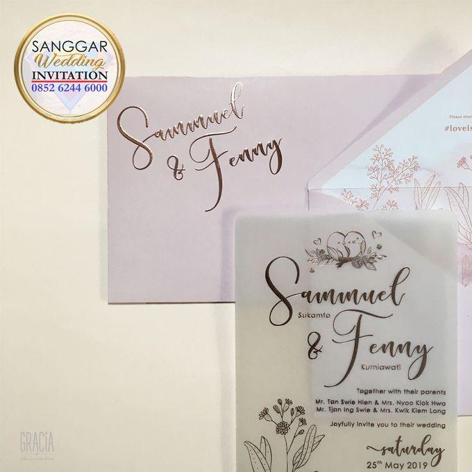 SAMUEL & FENNY (Neat Pink Blurry Mica Luxury) by Sanggar Undangan - 004
