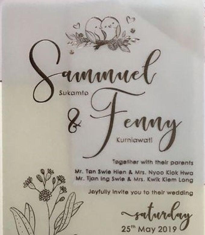 SAMUEL & FENNY (Neat Pink Blurry Mica Luxury) by Sanggar Undangan - 003
