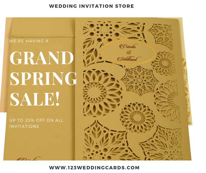 Spring offers by 123WeddngCards by 123WeddingCards - 001