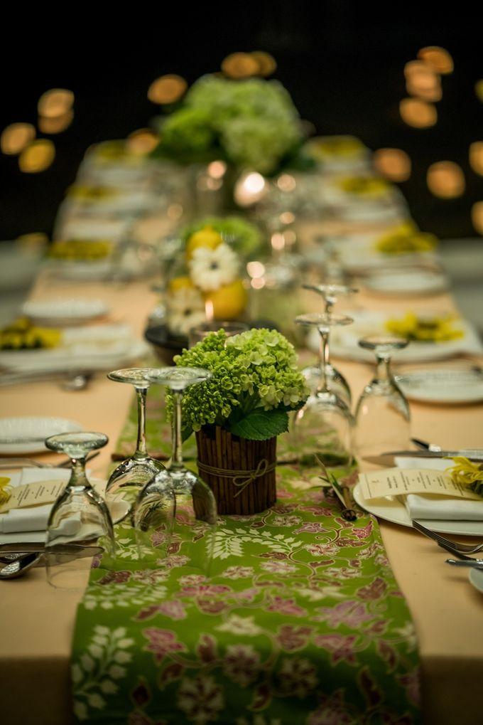 kayumanis ubud-dinner reception- pathway by Kayumanis Private Villa and Spa - 009