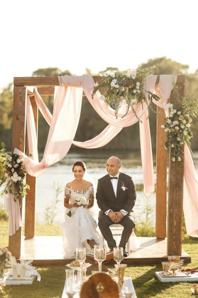Persian Wedding in Antalya by Nava & LightCUBE Wedding - 013