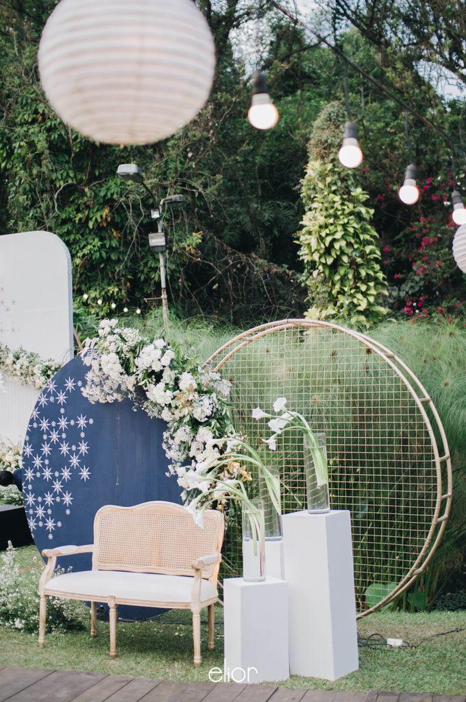 The Wedding of Ghea & Saleh by Elior Design - 021