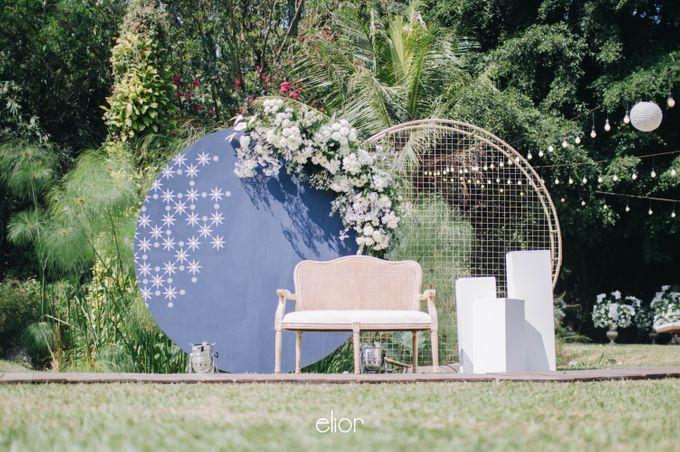 The Wedding of Ghea & Saleh by Elior Design - 015