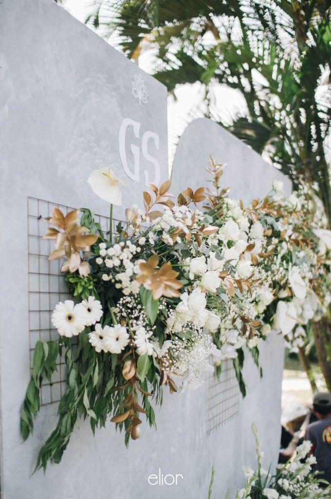 The Wedding of Ghea & Saleh by Elior Design - 017