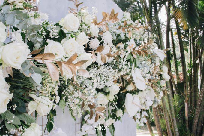 The Wedding of Ghea & Saleh by Elior Design - 018
