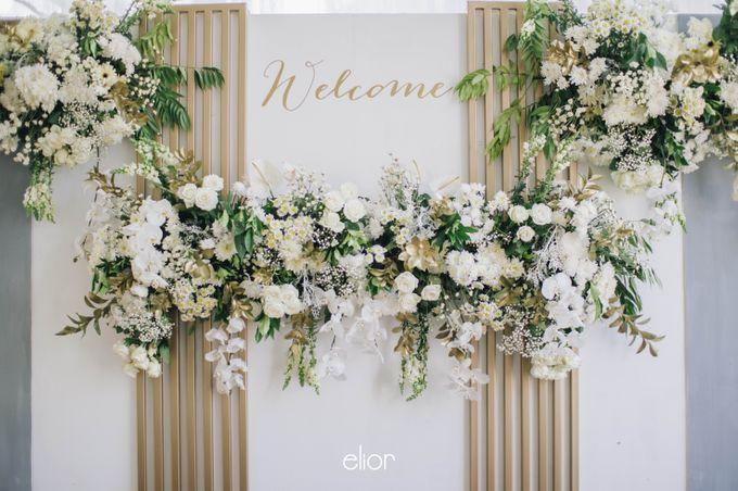 The Wedding of Ghea & Saleh by Elior Design - 019