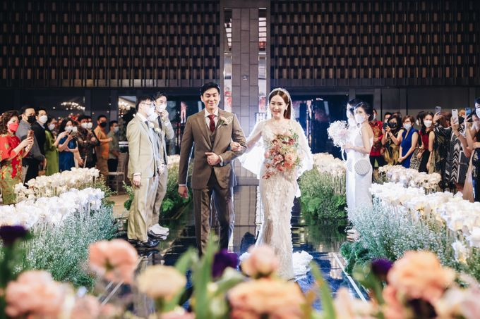 The Wedding of Hubert and Silvia by AYANA Midplaza JAKARTA - 012