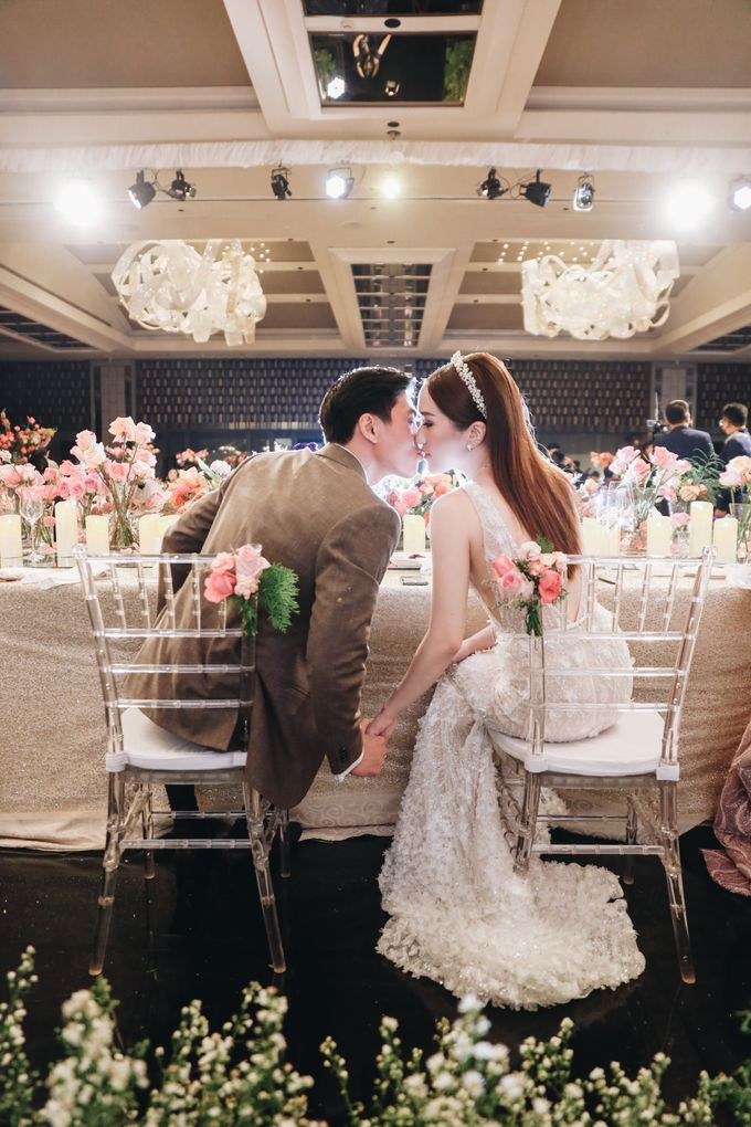 The Wedding of Hubert and Silvia by AYANA Midplaza JAKARTA - 021