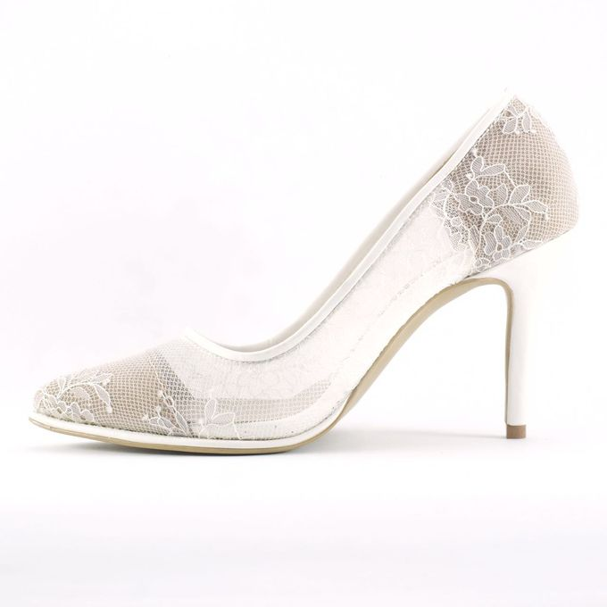 Pointed Heels without embellishments. by CAVA PRIVÉ - 001