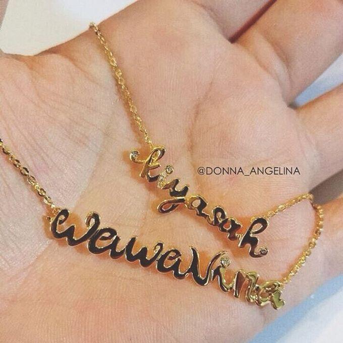 Name & Initial by DA Jewelry - 004