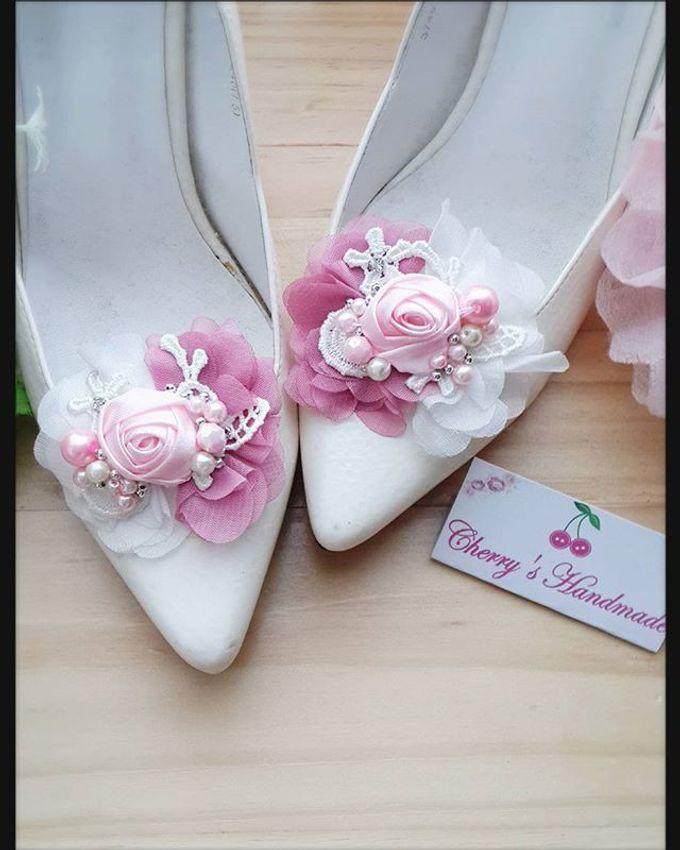 Flowery Shoeclips by Cherry's  Handmade - 009