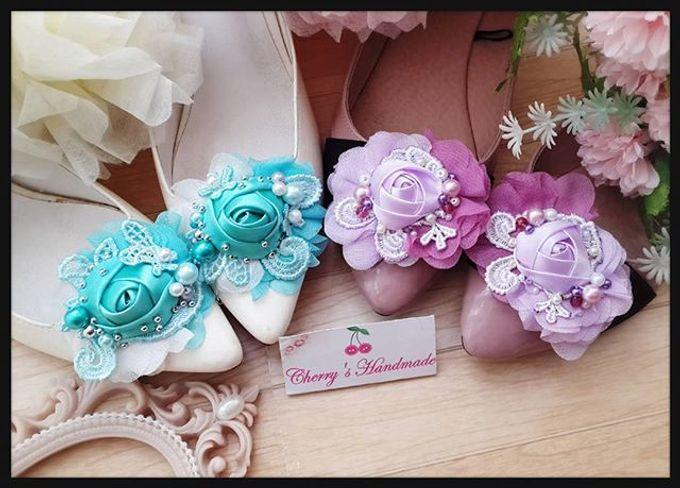 Flowery Shoeclips by Cherry's  Handmade - 003