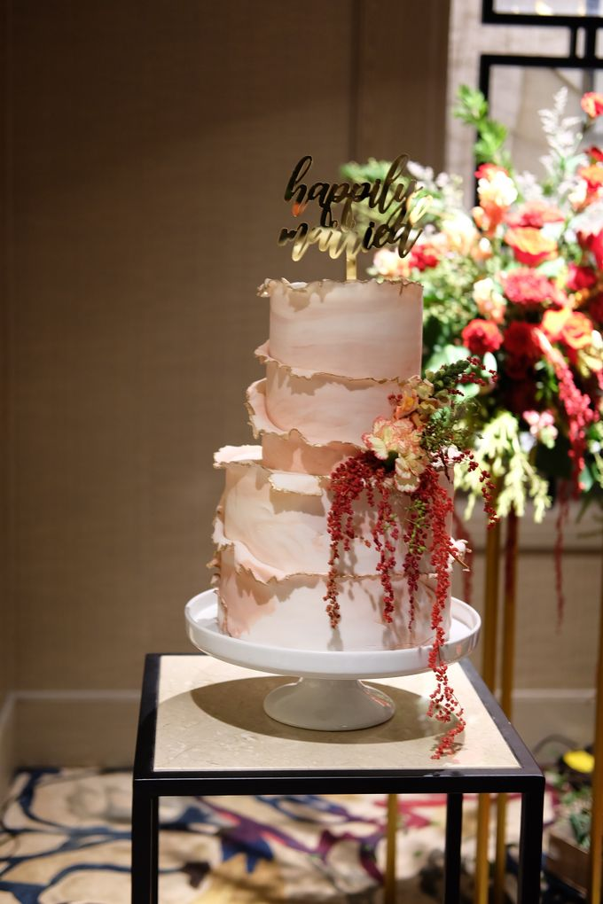 The Wedding Celebration of Celia & Erwin by KAIA Cakes & Co. - 005